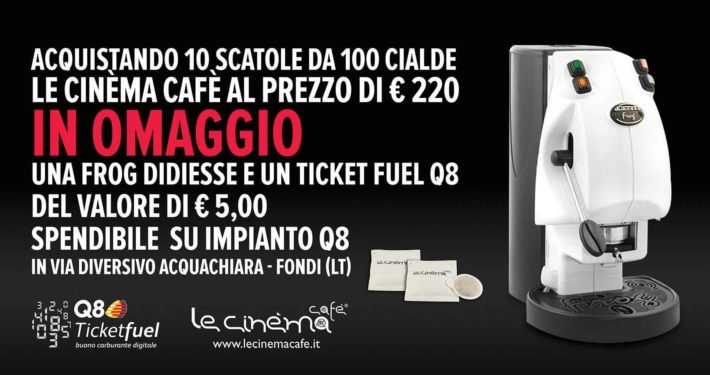 6x3 Le Cinéma Café Frog e buono Q8