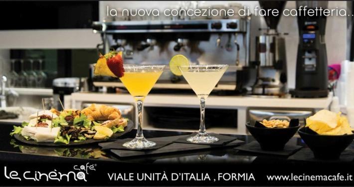6x3 Le Cinéma Cafè aperitivo Formia