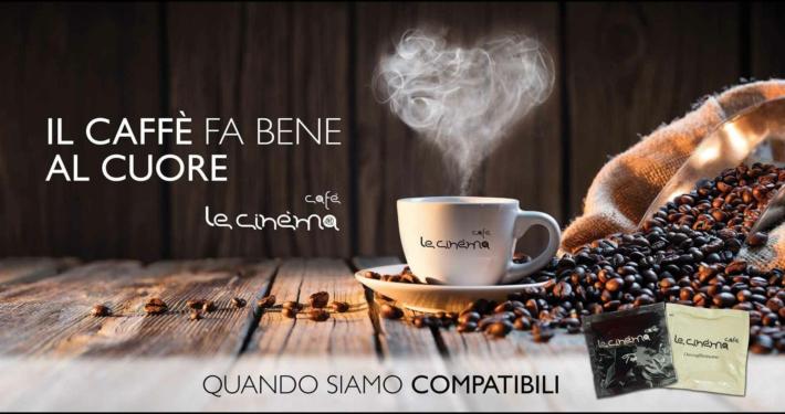 6x3 Le Cinéma Cafè il caffè fa bene al cuore