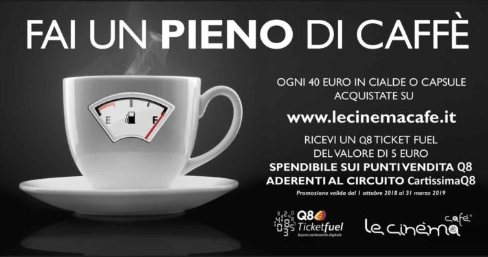 6x3 Le Cinéma Cafè fai un pieno di caffè