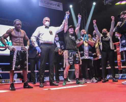 Vittoria Mondiale Michael Magnesi