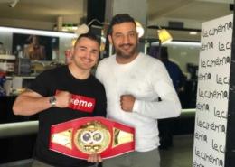 Magnesi a Le Cinéma Café con Roberto Massarone campione italiano