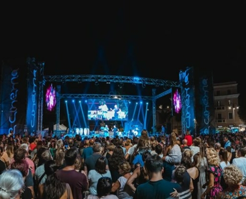 La notte blu di Terracina