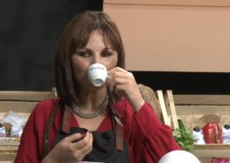 """Adele di Benedetto conduttrice della trasmissione """"Mangiare con gusto"""""""