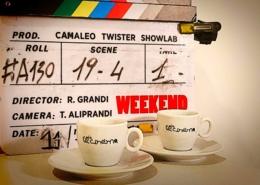 """Ciak si gira """"Weekend"""" regia di Riccardo Grandi"""