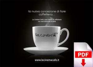 Brochure Le Cinéma Café