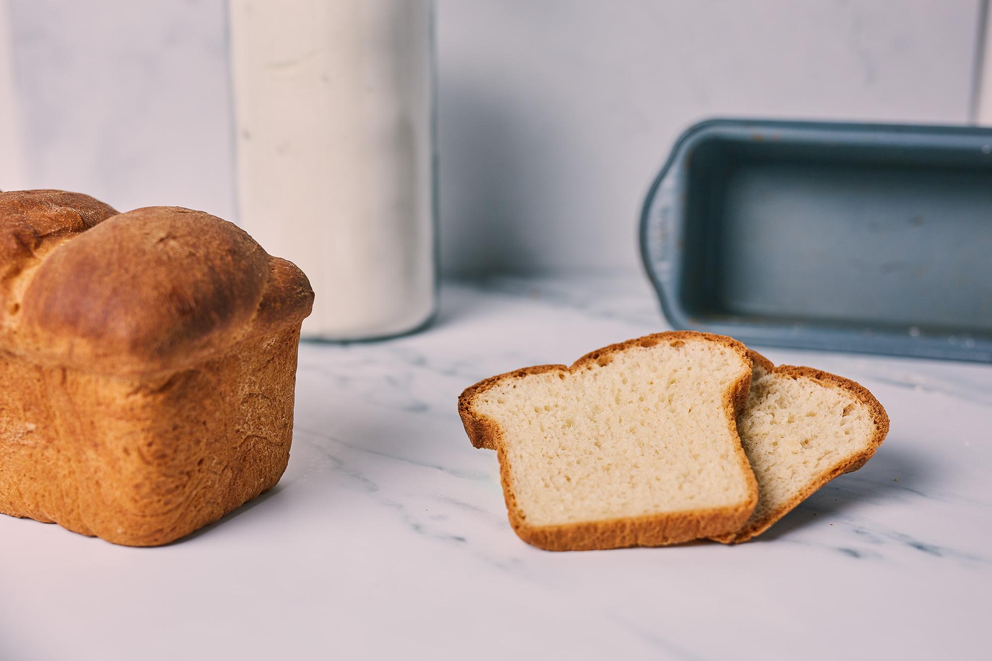 einfaches Toastbrot