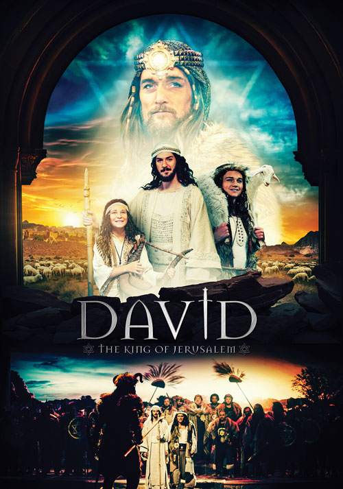 DAVID - The King of Jerusalem Poster - Legacy Productions
