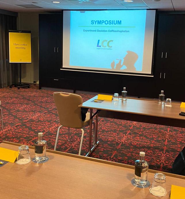 LCC discusses Dutch Experiment Gesloten Coffeeshopketen
