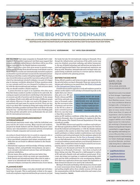 The Big Move To Denmark Hayel Celik-Graversen