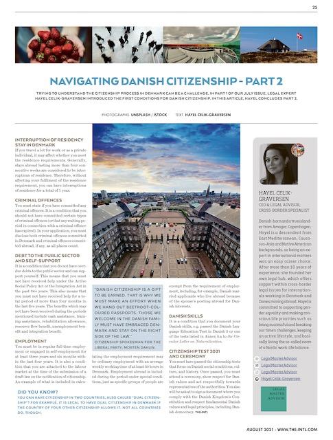 Danish Citizenship Article