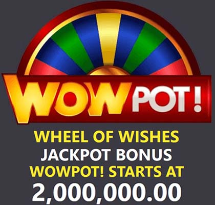 The WowPot starts at 2 million after each win