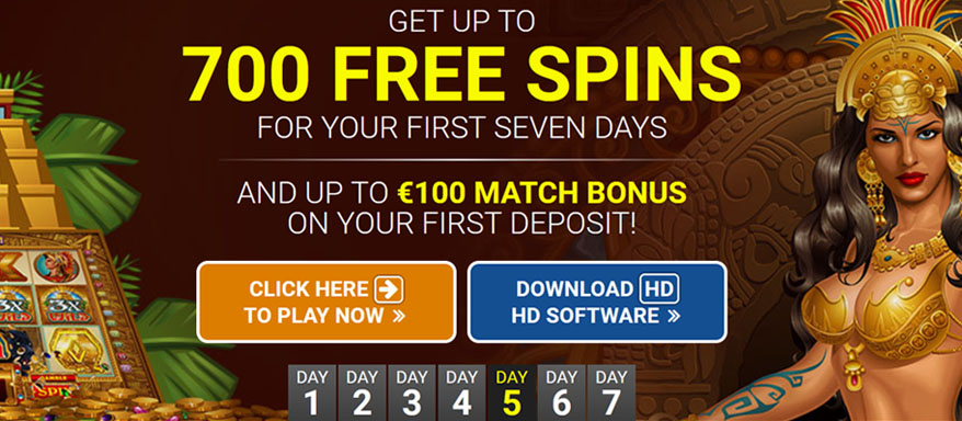 700 free spins at Quatro Casino Luxembourg