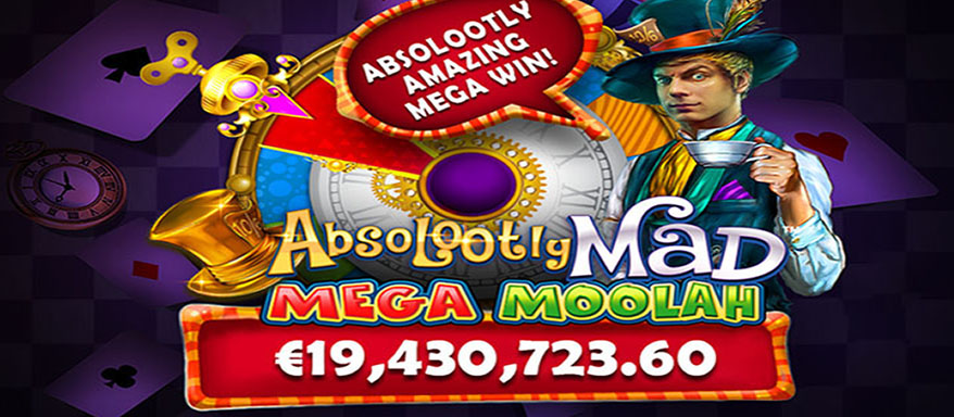 Mega Moolah world record won in 2021