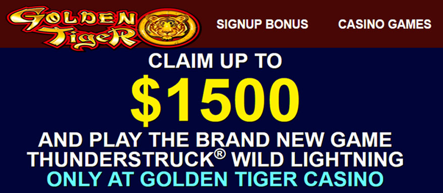Golden Tiger review and casino bonus
