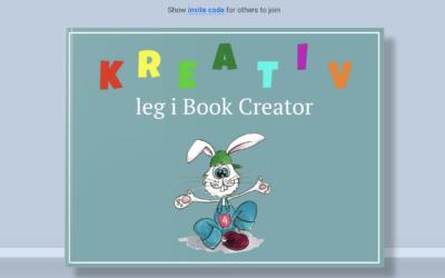 Kreativ leg med Book Creator