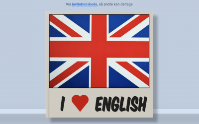 Kreative engelskbøger