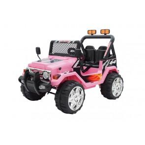 Svart 2 sitsig 4x4 Truck - 12V elktrisk bil för barn