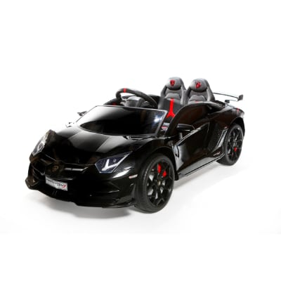 12V Licensed Lamborghini 2 Seater Ride On Car Black