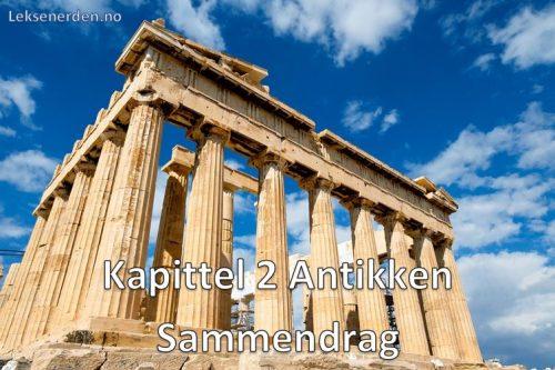 Kapittel 2 Antikken Sammendrag Historie Vg2