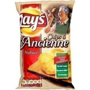 Chips LAY'S à l'ancienne moutarde 75g