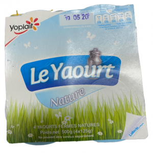 Yaourt nature Yoplait x4