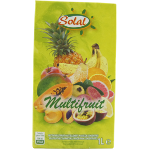 Jus multifruits 1L SOLAL