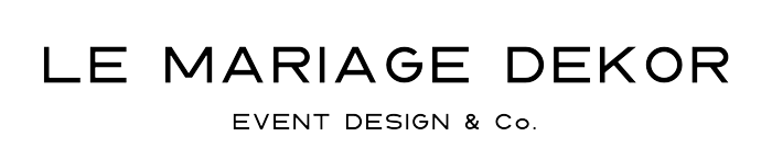 Le Mariage Dekor Logo schwarz