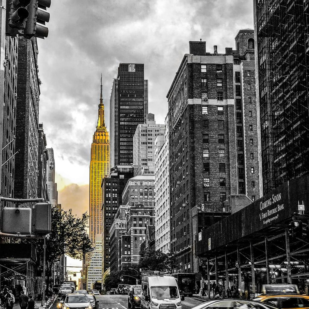 Golden - In a New York minute
