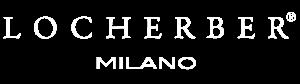 Locherber logo wit