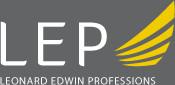 LEP Logo inverted