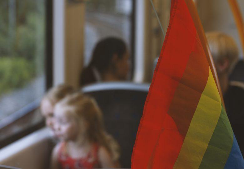 Barn på t-bane