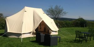 Tente Glamping Deluxe pour 2