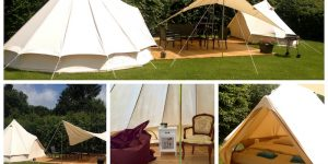 Tente Glamping pour 2