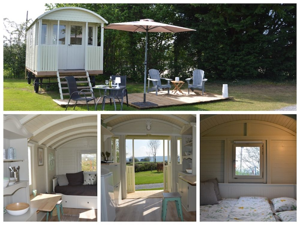 Glamping Roulotte (2 personen)