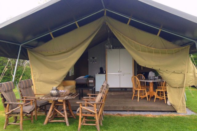 Glamping Safaritent - Interieur