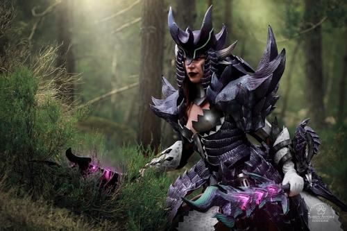 Cosplay Monster Hunter Alatreon - @Nanaachii_cosplay
