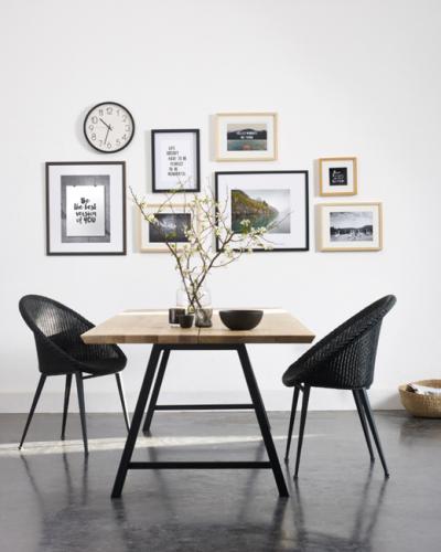 tafel en stoelen Lescrenier Landen