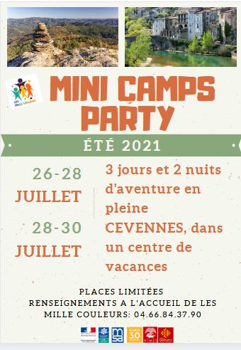 mini camp com recto été 2021