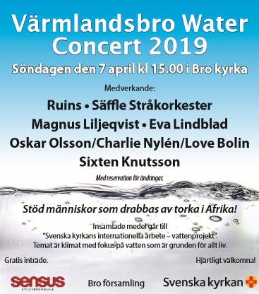 Välgörenhetskonsert för rent vatten