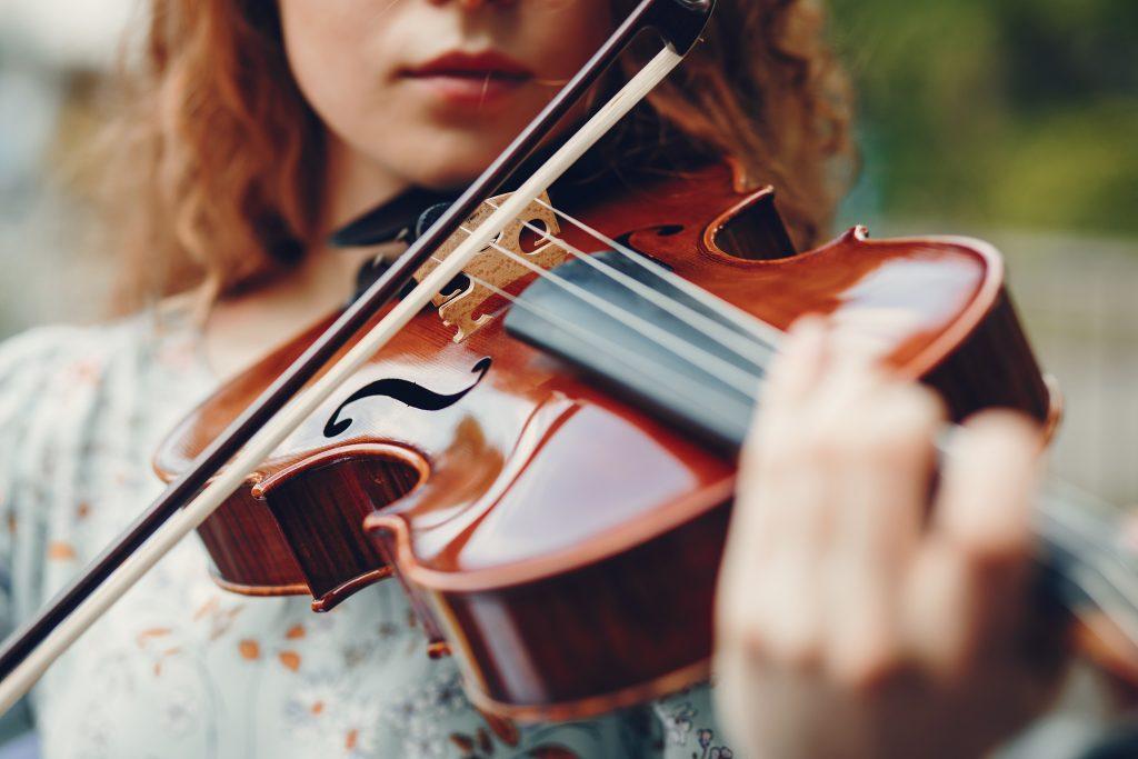 musiker på landsbygd