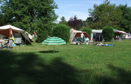 Plaats op camping Le Soustran