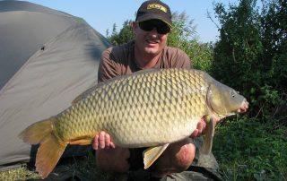 Vissen vlakbij camping Le Soustran