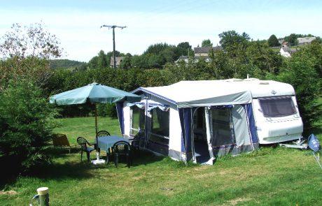 Hobby caravan camping Le Soustran