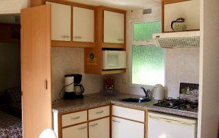 Mobile Home binnen camping Le Soustran