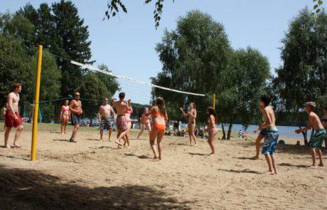 volleybalveld camping le soustran