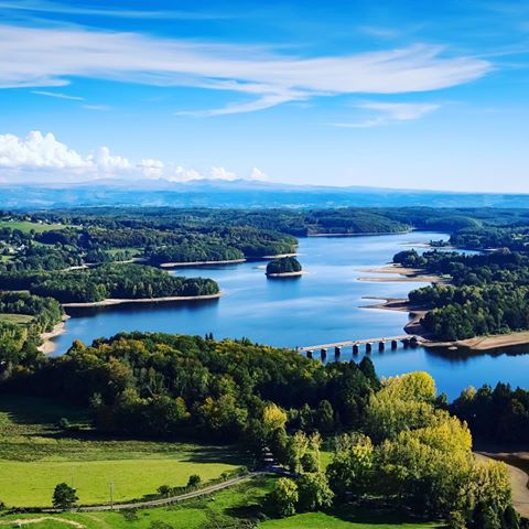 Lac de la Triouzoune Neuvic