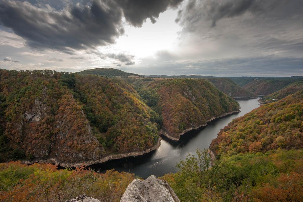 De Dordogne 15km vd camping
