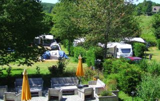 Camping terras