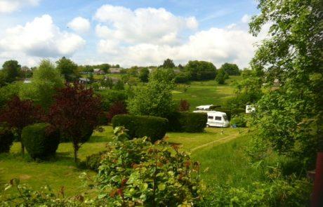 Uitzicht Camping Le Soustran